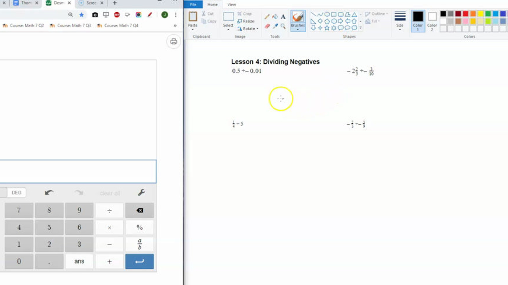 Dividing Decimals and Fractions with Desmos.mp4