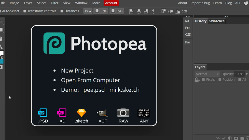 Photopea Demo Banner Assignment Graphic Design.mp4