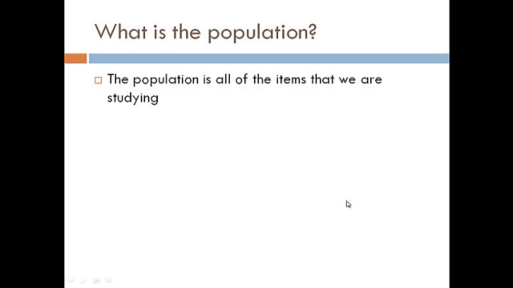 Population and Sample Review.mp4