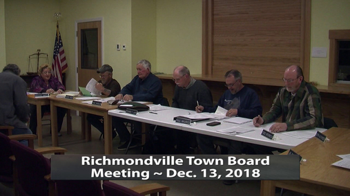 R'ville Twn Board -- Dec. 13,2018