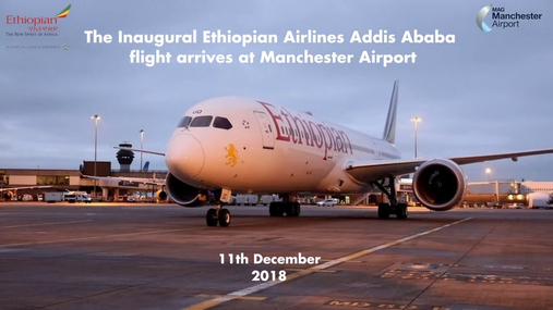 Ethiopian Airlines Inaugural Manchester flight.mp4