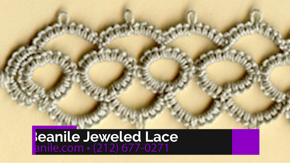 Jewelry Design in New York NY, Beanile Jeweled Lace