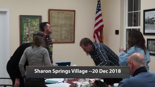 Sharon Springs Village -- 20 Dec 2018