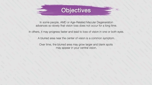Age-Related Macular Degeneration Part 5