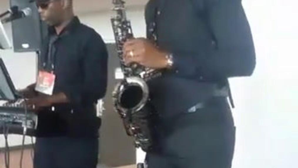 Saxophonist M.B. & Pianist A.L.