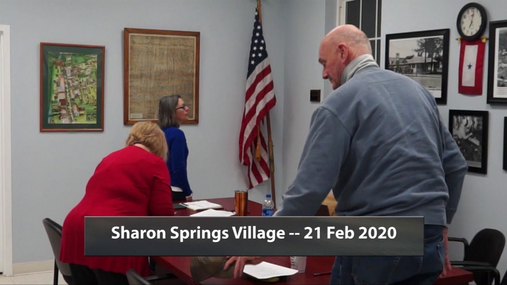 Sharon Springs Village -- 20 Feb 2020