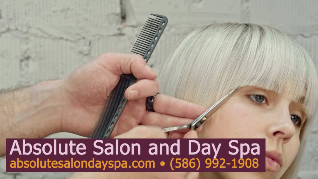 Haircuts in Shelby MI, Absolute Salon and Day Spa