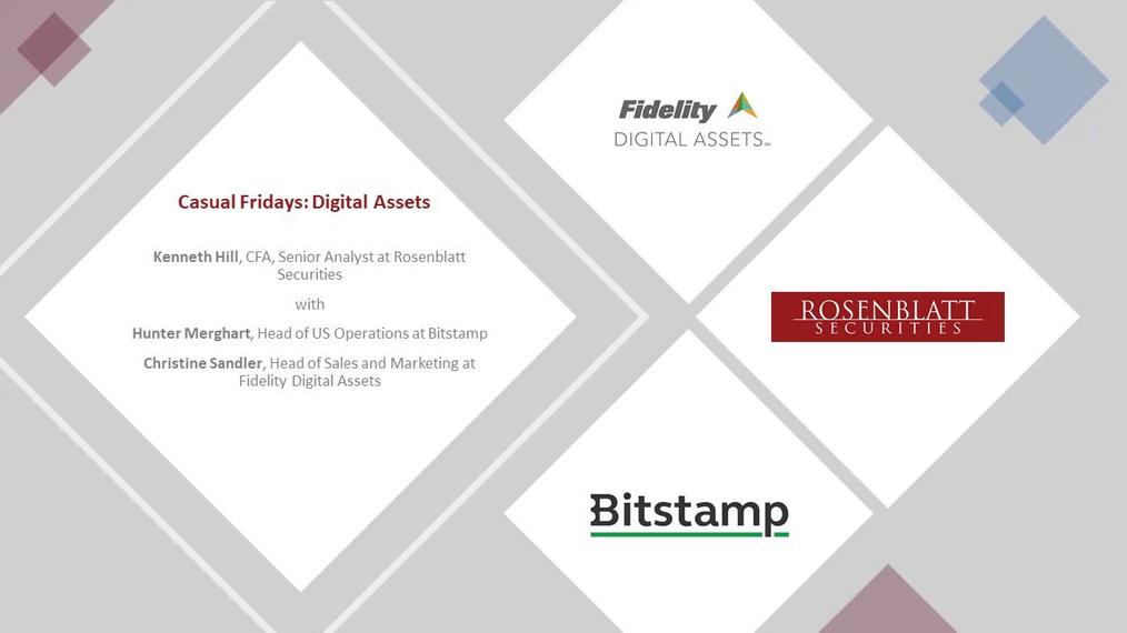 Webinar: Casual Fridays With Ken - Digital Assets