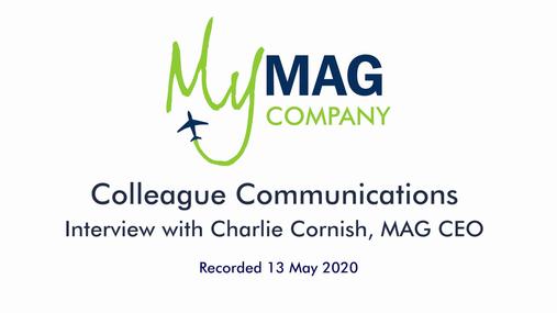 Charlie Cornish - May 2020 Update