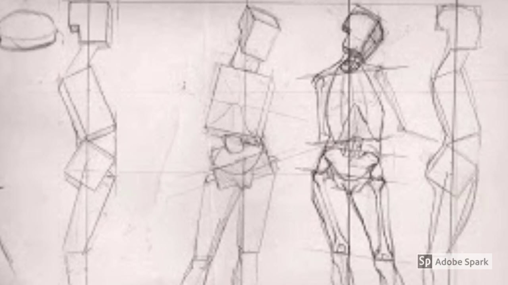 art 1 detailed figure drawing