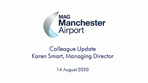 An Update from Karen Smart 14.08.20