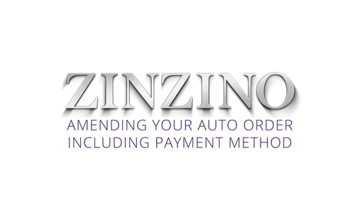 7. Amending your Auto Order and payment method