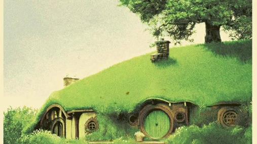 At the land of the hobbits