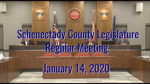 Schenectady Co Legislature Reg 14 Jan 2020