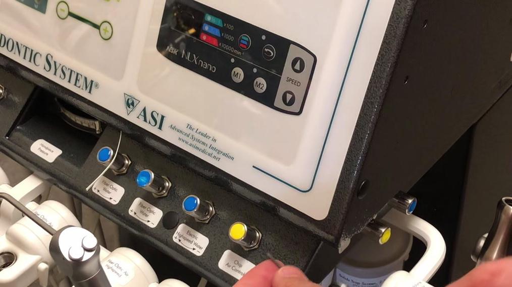 Removing/Replacing Flow Control Needle Valve (95-0204) [66-4028]