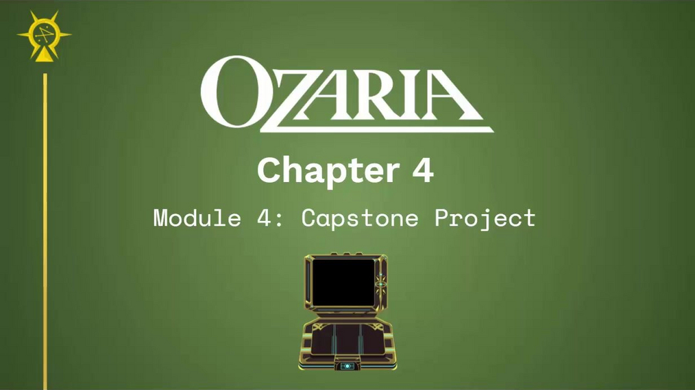 Chapter 4 Module 4 Intro to Capstone and Design Thinking Process.mp4