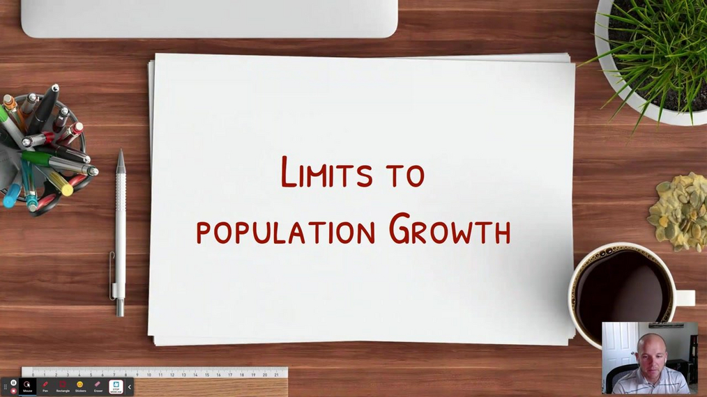 Topic 2: Limits to Population Growth