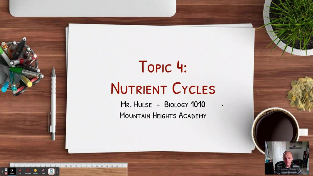 Intro: Topic 4 - Nutrient Cycles