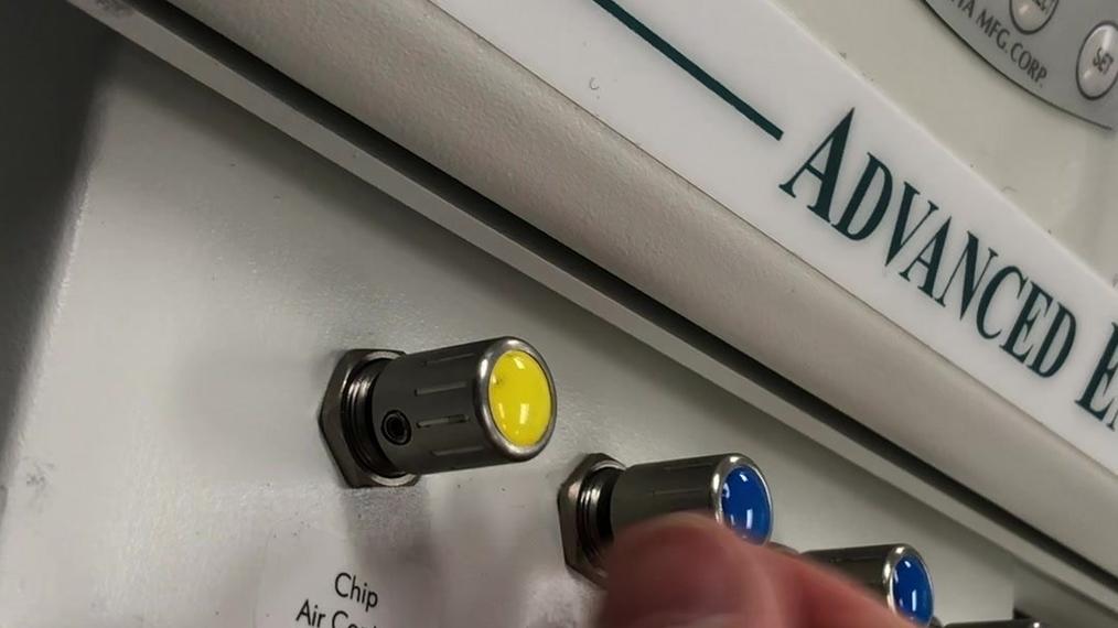 Flow Control Knob Adjustment