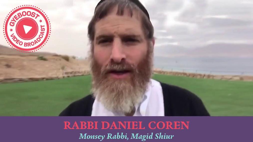 734 - Rabbi Daniel Coren - El efecto mariposa