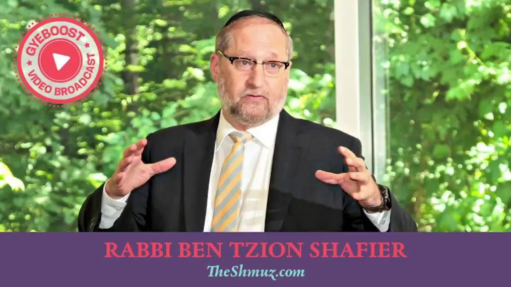 Rabbi Ben Tzion Shafier - La Pelea #1 - Lidiando con el fracaso.
