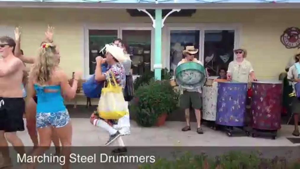 Steel Drums M.J. (Marching Steel Drums)