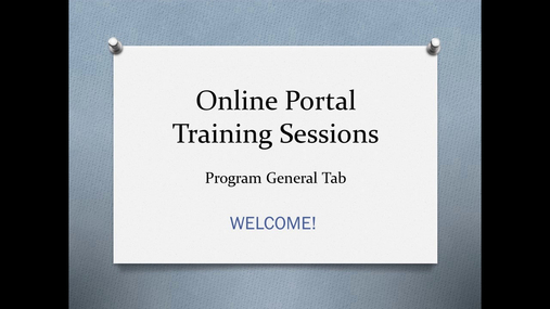 03 - Program General Tab.mp4