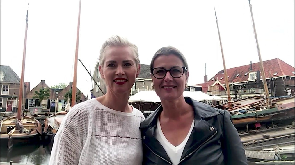 Video message from Esther de Jong-Kuis and Trudy Heine