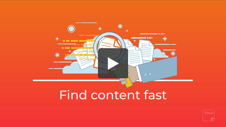 How to find content fast with Qorus