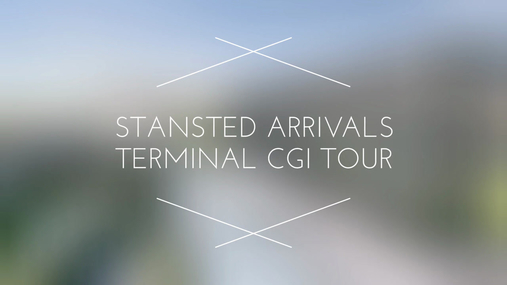 Stansted Arrivals Terminal CGI tour - Aug 18.MOV