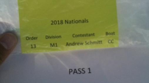 Andrew Schmitt M1 Round 1 Pass 1