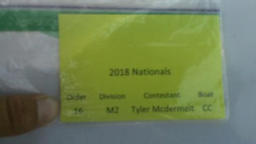 Tyler Mcdermeit M2 Round 1 Pass 2