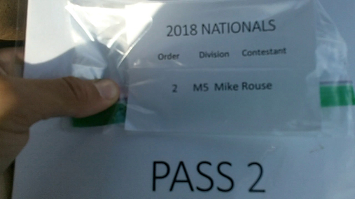 Mike Rouse M5 Round 1 Pass 2