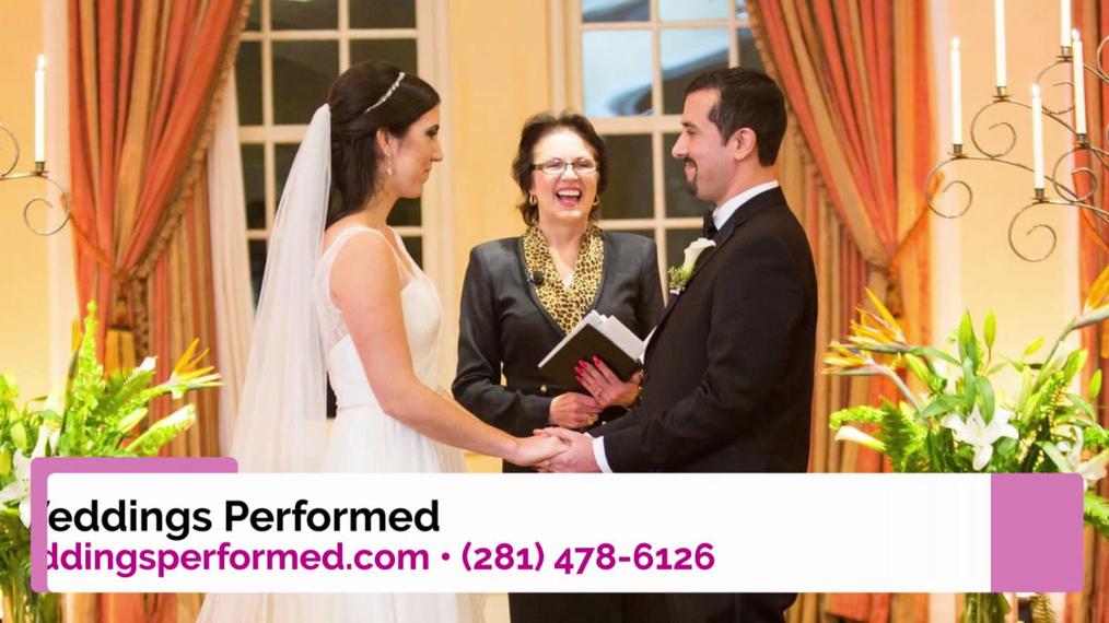 Wedding Officiant  in Deer Park TX, Weddings Performed