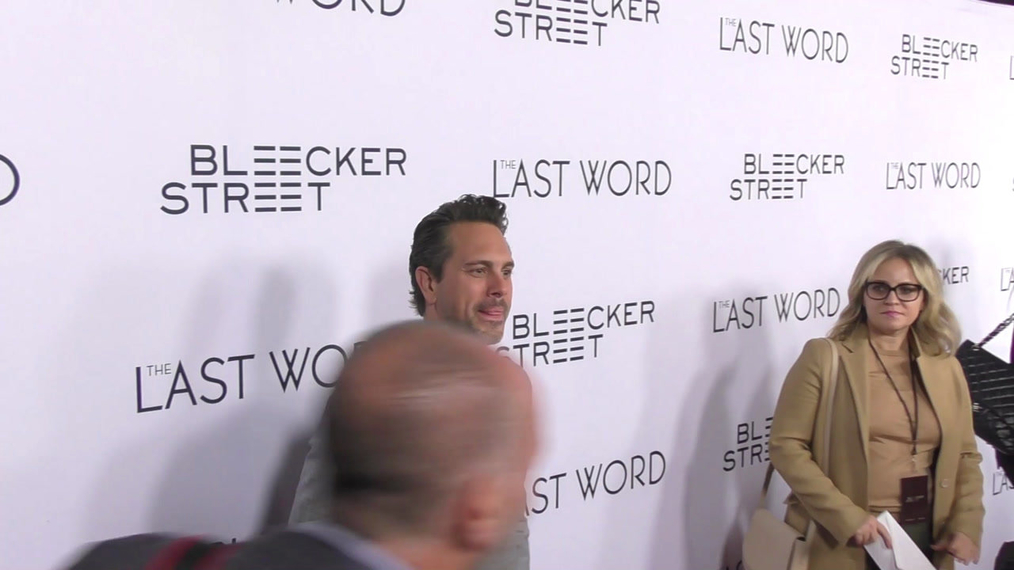 Thomas Sadoski at the Premiere of The Last Word at Arclight in Hollywood.mp4
