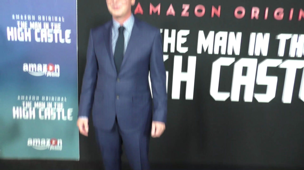 Daniel Percival at the Premiere Of Amazon's Man In The High Castle Season 2 at the Pacific Design Center in West Hollywood.mp4