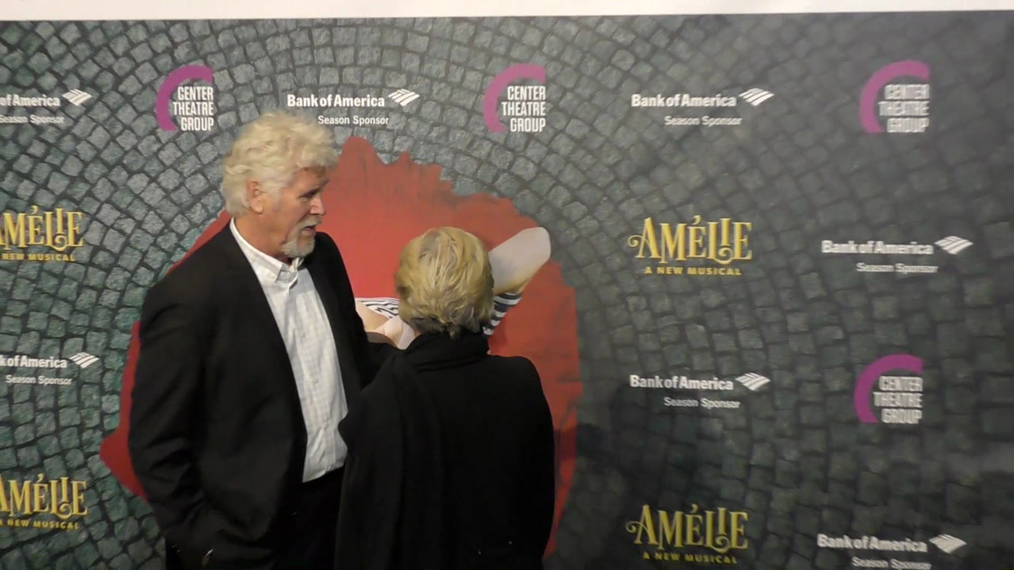 Barry Bostwick at the Amelie A New Musical Opening Night at Ahmanson Theatre in Los Angeles.mp4