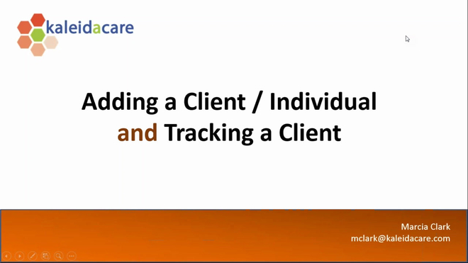 Free Training Friday 2017-02: Client Basic Information & Tracking