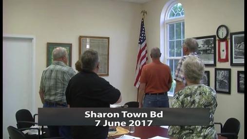 Sharon Town Bd__7 June 2017