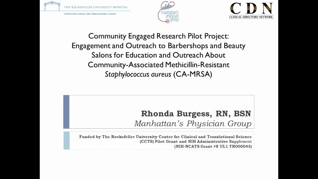 Community Engagement - A Real-World Example