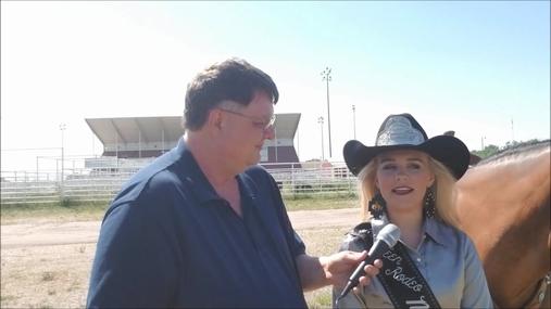 Miss Teen Rodeo Nebraska Taylor Fugate