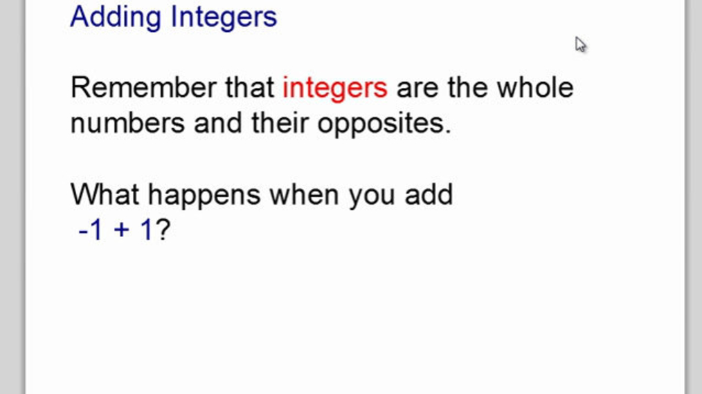 Add Integers with Counters.mp4