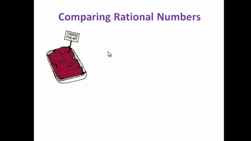 Compare Rational Numbers.mp4