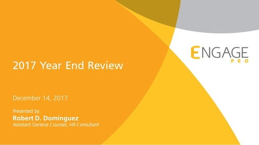 December 2017 HR Webinar_HR Year End Review