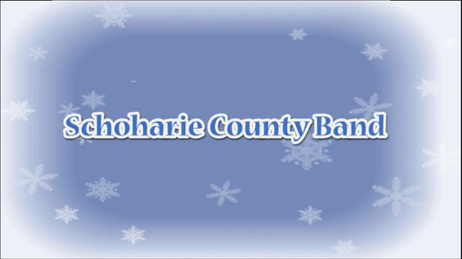 schoharie county band concert -- dec. 9