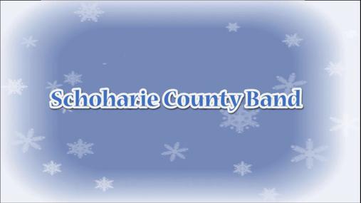 schoharie county band concert -- dec. 9