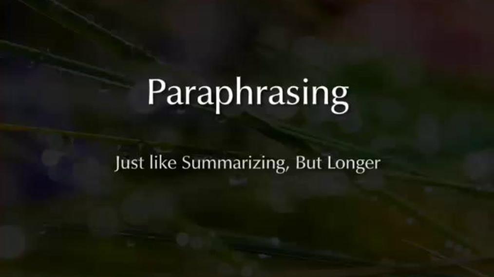 Paraphrasing.mp4