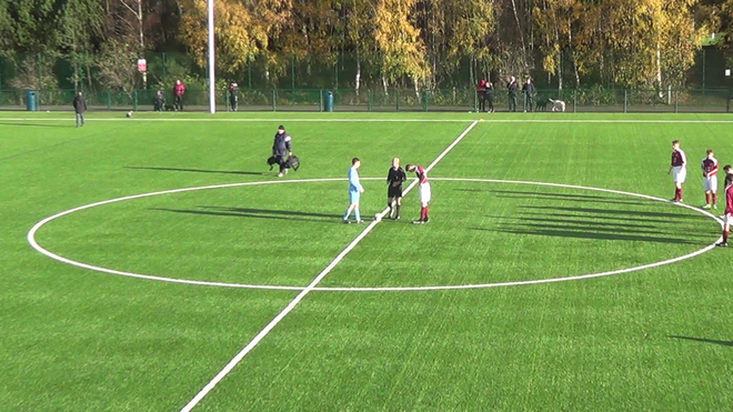 FirstPoint USA - Harry Brydon - Linlithgow Rose CFC U19s v Murieston Utd U19s 1st Half, 12th Nov '17.mov