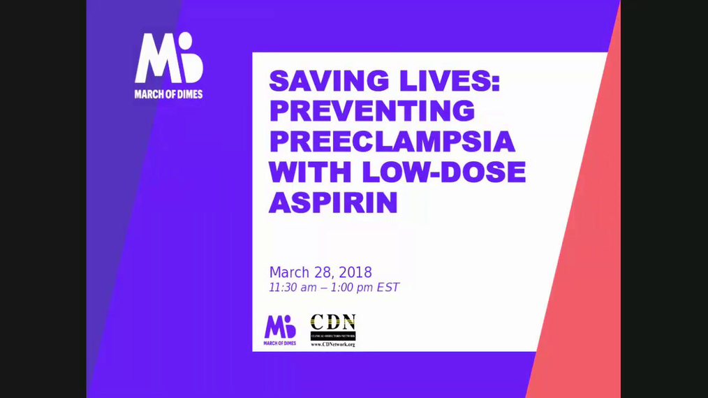 032818 Saving Lives Preventing Preeclampsia with Low Dose Aspirin__.mp4