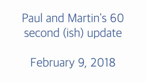 STP weekly update 09.02.18